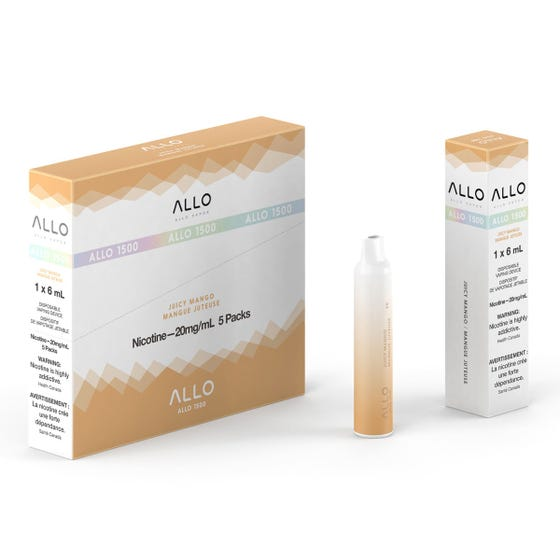 Allo XXL - Disposable E-Cig (1500 Puffs)