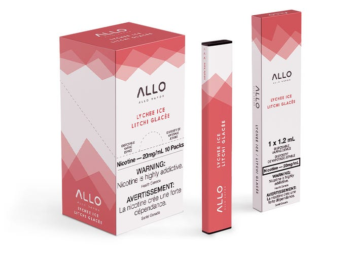 Allo - Disposable E-Cig (300 Puffs)
