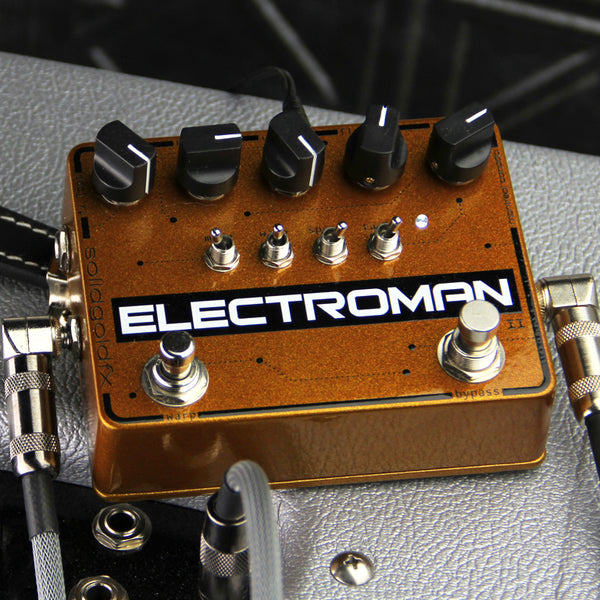 GETTING LOOPY WITH THE ELECTROMAN MKII