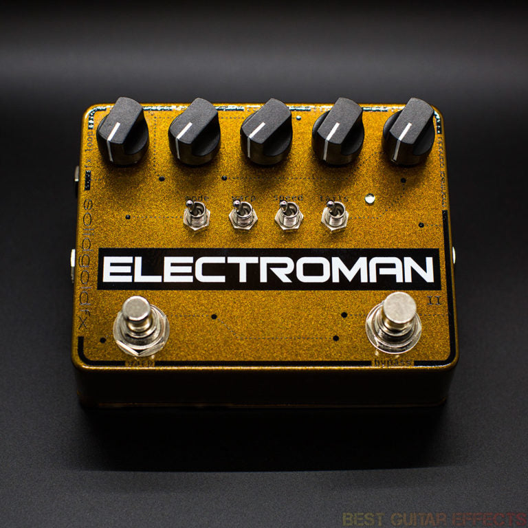 SOLIDGOLDFX ELECTROMAN MKII REVIEW - BEST GUITAR EFFECTS