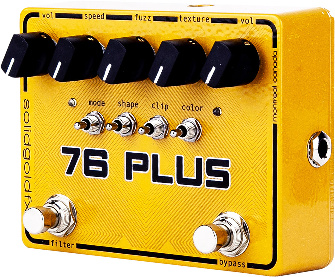 76 PLUS - OCTAVE UP FUZZ & FILTER