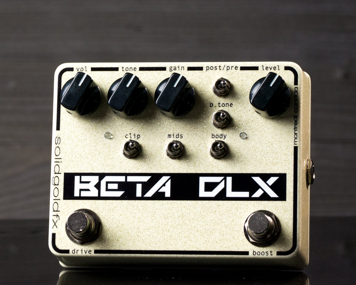 BETA DLX - BASS OVERDRIVE/PREAMP