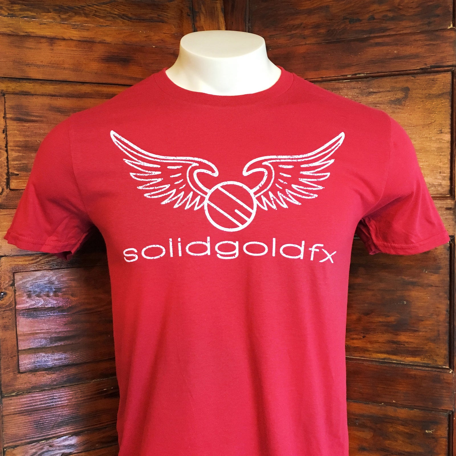 SGFX WING LOGO T-SHIRT - RED
