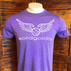 SGFX Wing Logo T-Shirt - Heather Purple