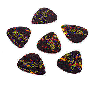 SolidGoldFX Celluloid Picks 6-Pack