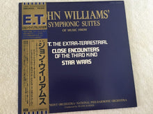 Load image into Gallery viewer, John Williams ‎– Symphonic Suites, Japan Press Vinyl LP, EMI ‎– EMS-81551, with OBI