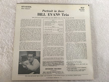 Load image into Gallery viewer, Bill Evans Trio ‎– Portrait In Jazz, Japan Press Vinyl LP, Riverside Records ‎– SMJ-6144, 1976, no OBI