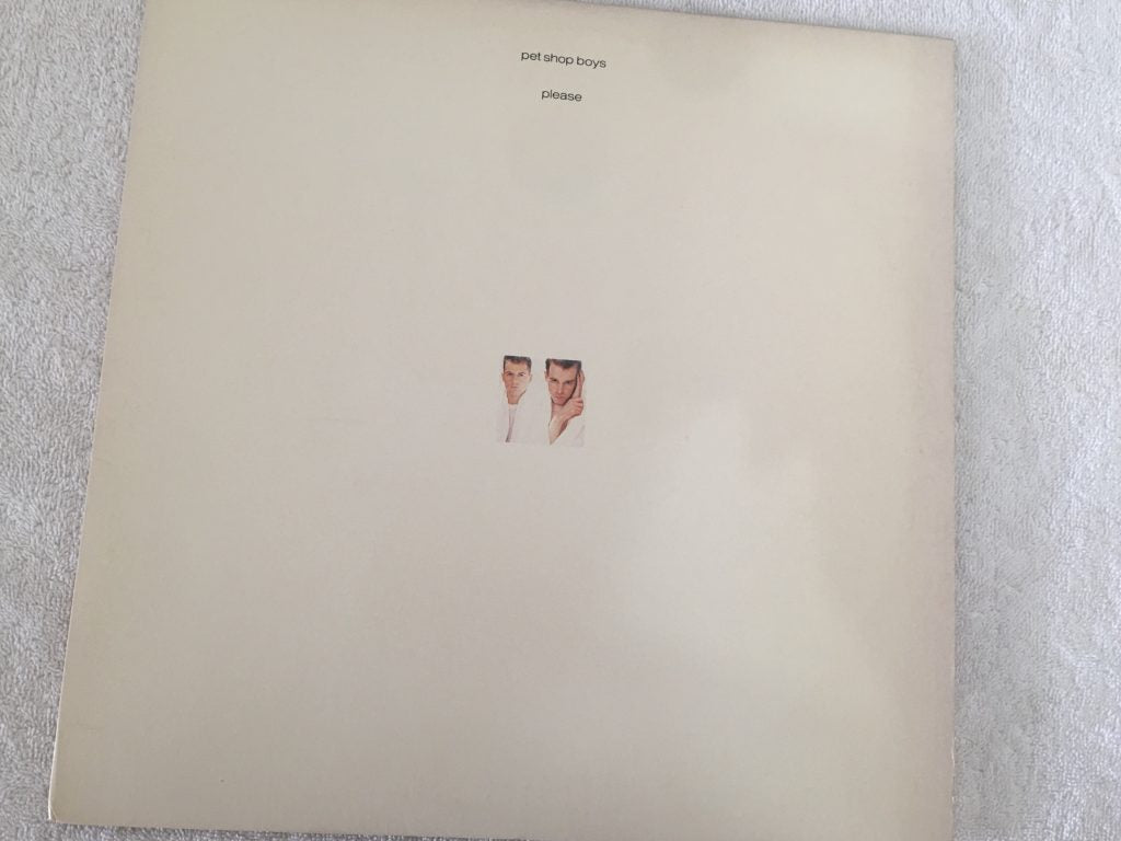 Pet Shop Boys ‎– Please, Vinyl LP, EMI America ‎– PW-17193, 1986, USA