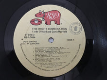Load image into Gallery viewer, Curtis Mayfield, Linda Clifford ‎– The Right Combination, Vinyl LP, RSO ‎– RS-1-3084, 1980, USA