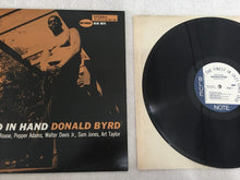 Load image into Gallery viewer, Donald Byrd ‎– Byrd In Hand, Vinyl LP, Cadre Rouge Audiophile Edition, Blue Note ‎– BST 84019, 1985, USA