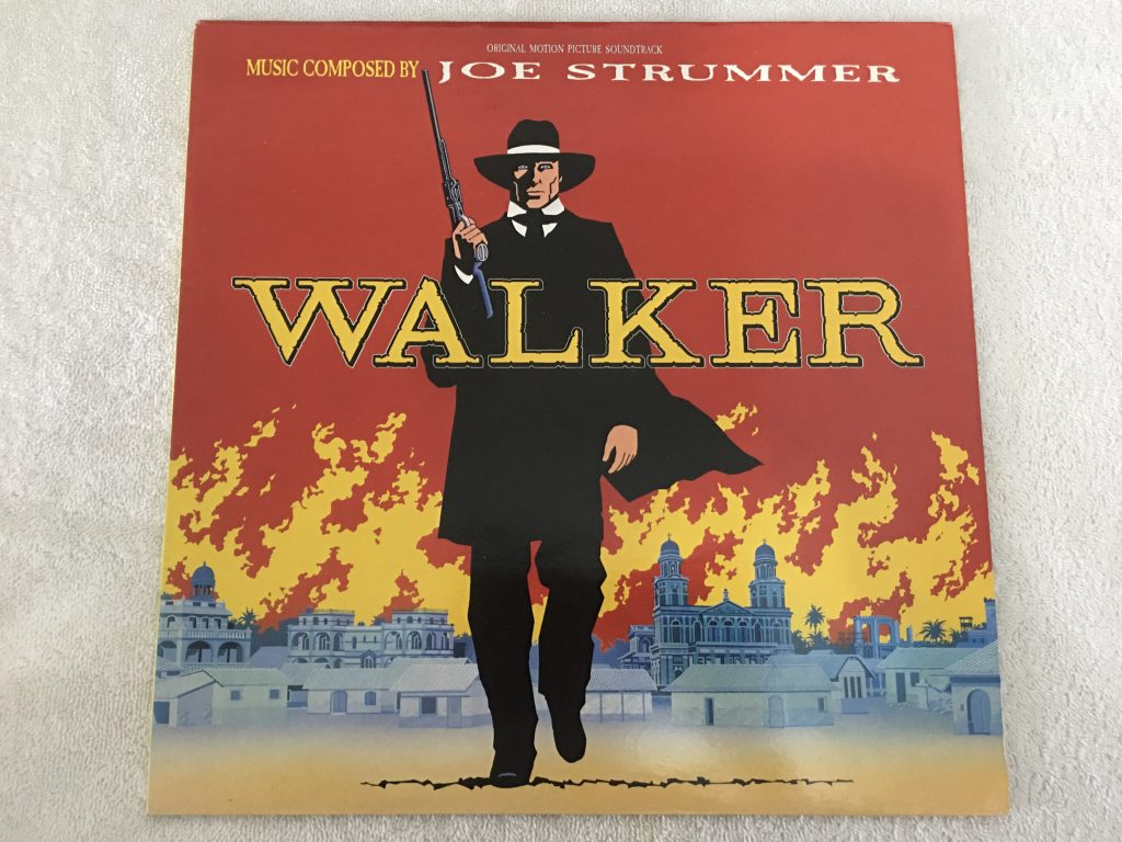 Joe Strummer ‎– Walker, Vinyl LP, Original Soundtrack, Virgin ‎– V 2497, 1987, UK