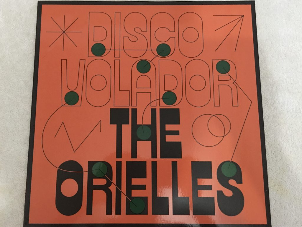 Orielles ‎– Disco Volador, Orange Vinyl LP, Limited Edition, Heavenly ‎– HVNLP176C, 2020, Europe