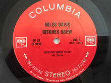 Load image into Gallery viewer, Miles Davis ‎– Bitches Brew, 1st Pressing 2x Vinyl LP, Columbia ‎– GP 26, 1970, USA