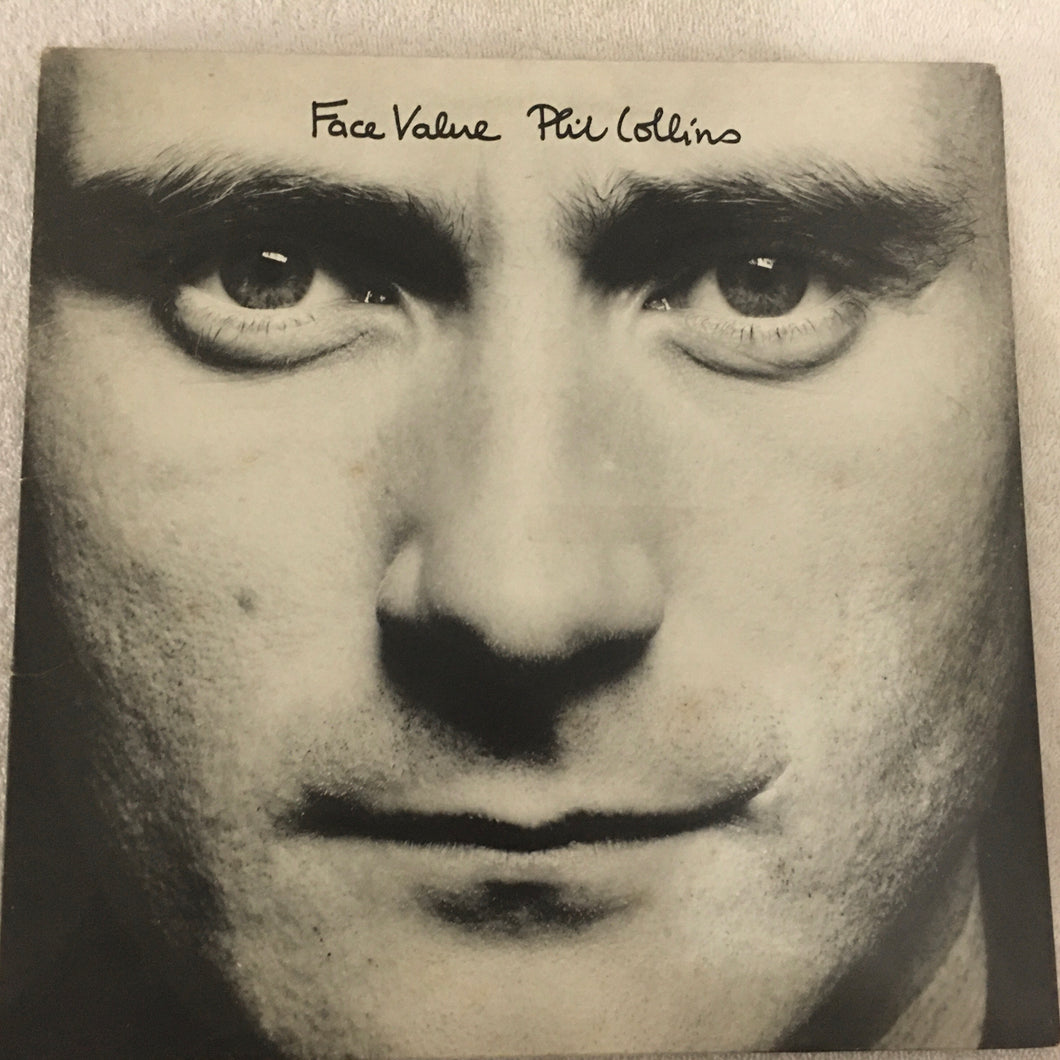 Phil Collins ‎– Face Value, Vinyl LP, Virgin ‎– V2185, 1981, UK