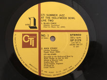 Load image into Gallery viewer, CTI All-Stars ‎– CTI Summer Jazz At The Hollywood Bowl Live Two, Japan Press Vinyl LP, CTI Records ‎– GP-3129, 1977, no OBI