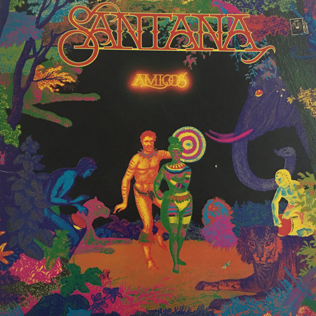 Santana, Amigos, Japan Press Vinyl LP, CBS/Sony ‎– SOPO 117, 1976, Gatefold, no OBI