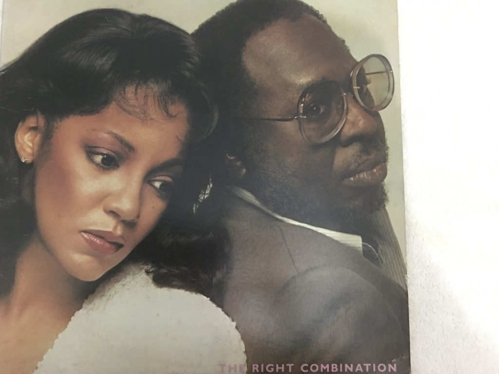 Curtis Mayfield, Linda Clifford ‎– The Right Combination, Vinyl LP, RSO ‎– RS-1-3084, 1980, USA