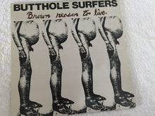 "Load image into Gallery viewer, Butthole Surfers ‎– Brown Reason To Live, 12"" Brown Marble Vinyl EP, Alternative Tentacles ‎– VIRUS 32, 1991, USA"