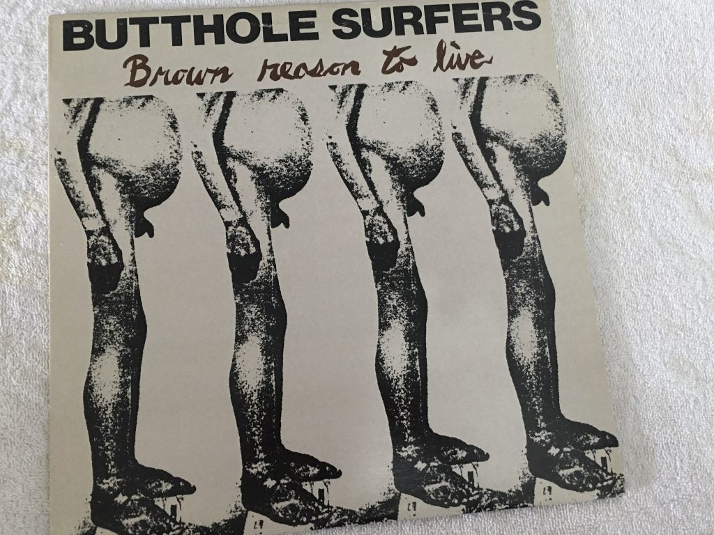 Butthole Surfers ‎– Brown Reason To Live, 12