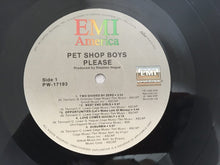 Load image into Gallery viewer, Pet Shop Boys ‎– Please, Vinyl LP, EMI America ‎– PW-17193, 1986, USA