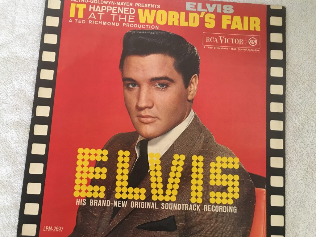 Elvis Presley ‎– It Happened At The World's Fair, RCA Victor ‎– LPM 2697, 1963, Italy