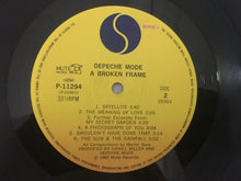 Load image into Gallery viewer, Depeche Mode ‎– A Broken Frame, Japan Press Vinyl LP, Sire ‎– P-11294, 1982, no OBI
