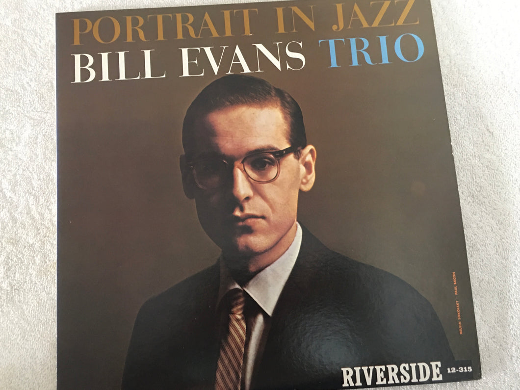 Bill Evans Trio ‎– Portrait In Jazz, Japan Press Vinyl LP, Riverside Records ‎– SMJ-6144, 1976, no OBI