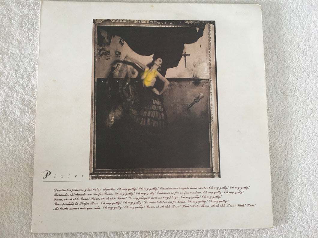 Pixies ‎– Surfer Rosa, Vinyl LP, 4AD ‎– CAD 803, 1988, UK