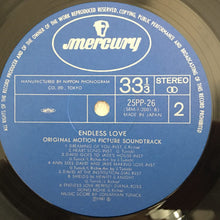 Load image into Gallery viewer, Various ‎– Endless Love (The Original Soundtrack), Japan Press Vinyl LP, Mercury ‎– 25PP-26, 1981, with OBI