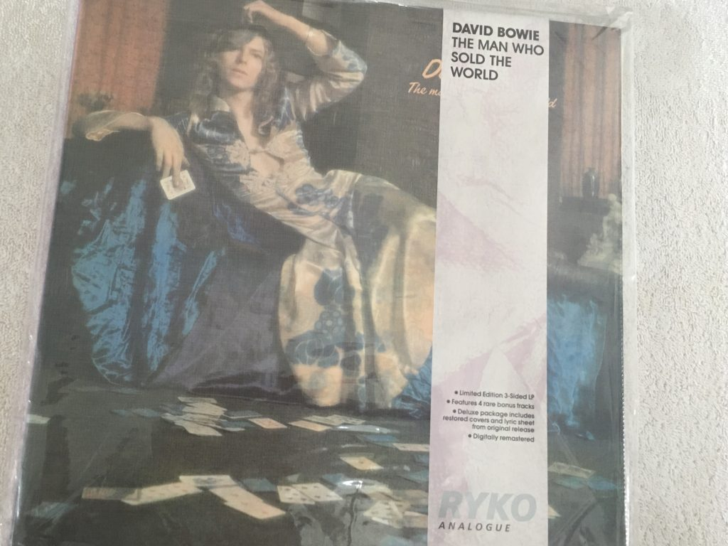 David Bowie ‎– The Man Who Sold The World, Brand New Vinyl LP, Limited Edition, Ryko Analogue ‎– RALP 0132-2, 1990, USA