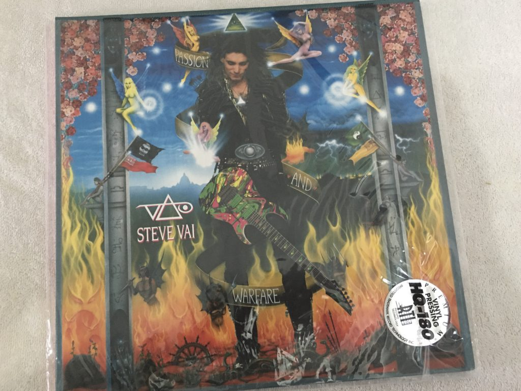 Steve Vai ‎– Passion And Warfare - 25th Anniversary Limited Edition, 2x Clear Vinyl LP, Friday Music ‎– FRM-68030, 2016, USA