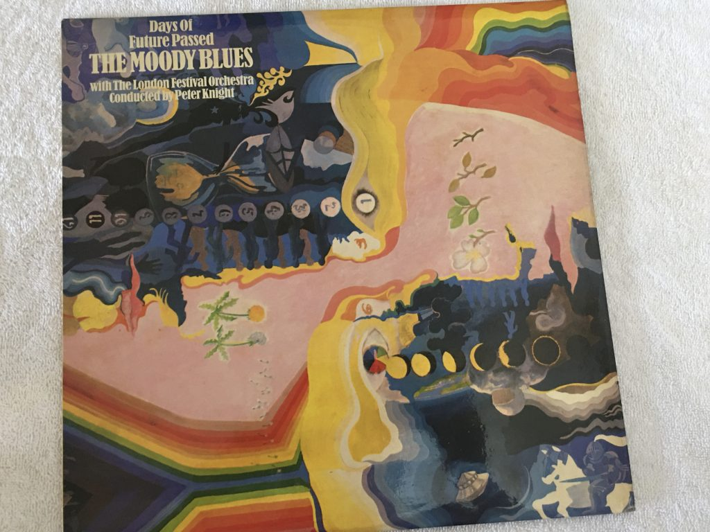 Moody Blues With The London Festival Orchestra Conducted By Peter Knight ‎– Days Of Future Passed, Vinyl LP, Deram ‎– SML 707, 1967, UK