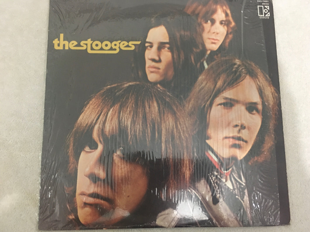 Stooges ‎– The Stooges, Vinyl LP, Elektra ‎– EKS-74051, 1988, USA