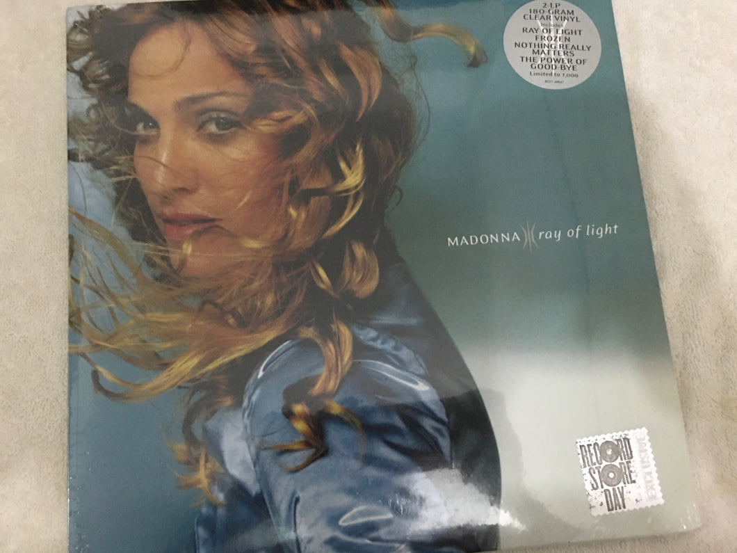 Madonna ‎– Ray Of Light, Brand New 2 x Clear Vinyl LP, Limited Edition, Warner Bros. Records ‎– RCV1-46847, 2018, Europe