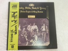Load image into Gallery viewer, Crosby, Stills, Nash & Young, Deja Vu, Japan Press Vinyl LP, Atlantic ‎– P-10123A, 1976, with OBI, Gatefold