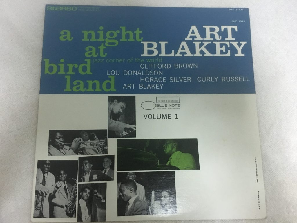 Art Blakey Quintet ‎– A Night At Birdland Volume 1, Vinyl LP, Blue Note ‎– BST 81521, 1973, USA