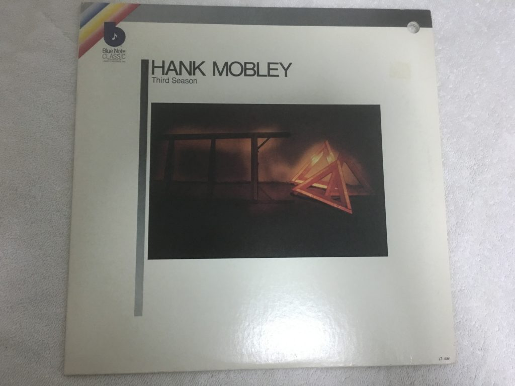 Hank Mobley ‎– Third Season, Vinyl LP,  Blue Note ‎– LT-1081, 1980, USA