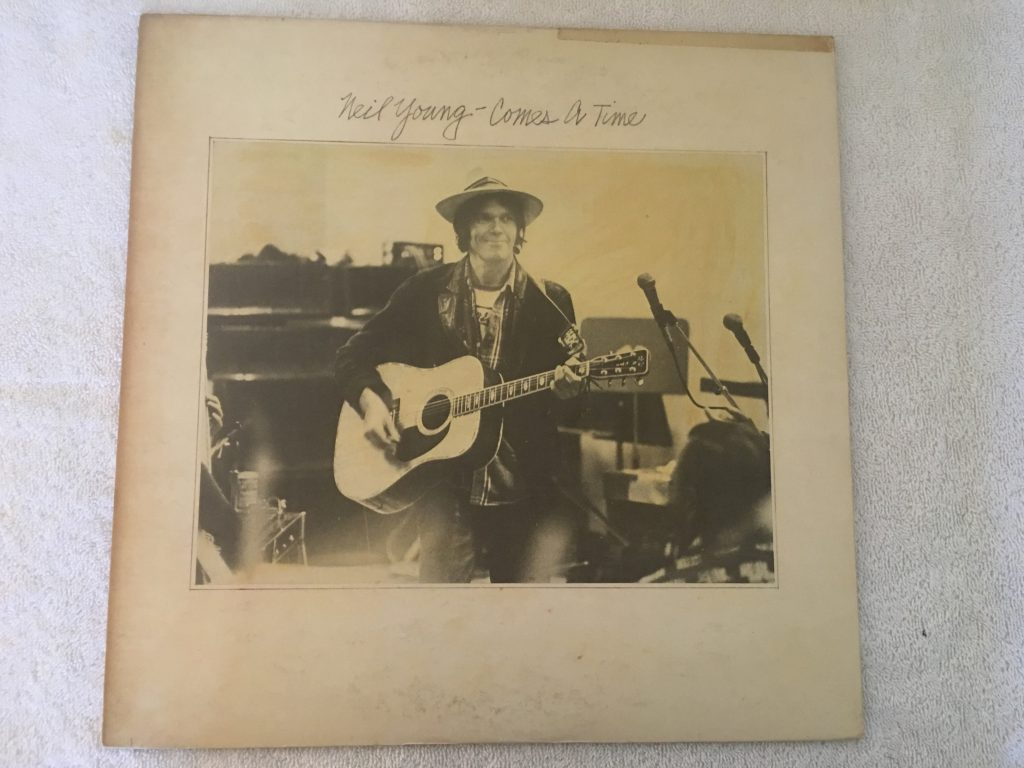 Neil Young ‎– Comes A Time, Japan Press Vinyl LP,  Reprise Records ‎– P-10477R, 1978, no OBI