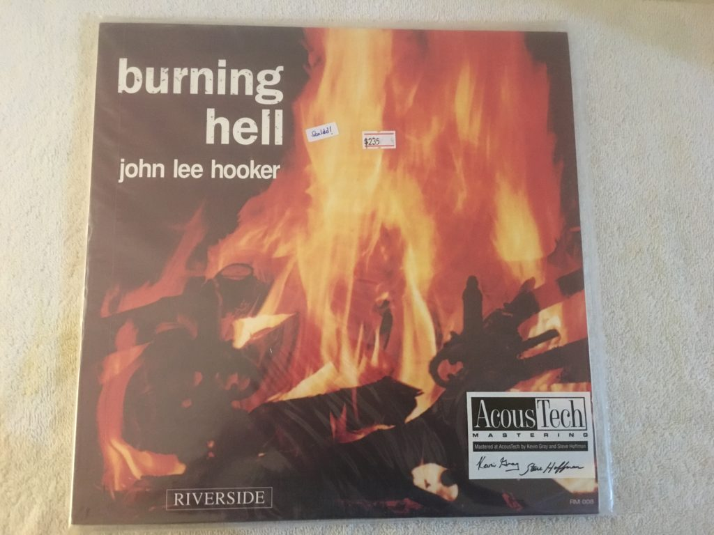 John Lee Hooker ‎– Burning Hell, Brand New 2x Vinyl LP, Limited Edition No. 0935, Analogue Productions ‎– AJAZ 008, 2009, USA