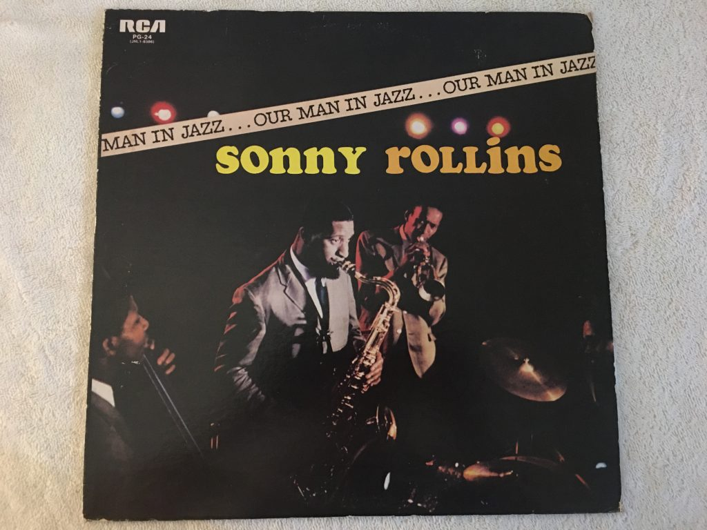 Sonny Rollins ‎– Our Man In Jazz, Japan Press Vinyl LP, RCA ‎– PG-24, 1976, no OBI