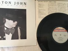 Load image into Gallery viewer, Elton John ‎– Ice On Fire,  Japan Press Vinyl LP, The Rocket Record Company ‎– 28PP-1014, 1985, no OBI