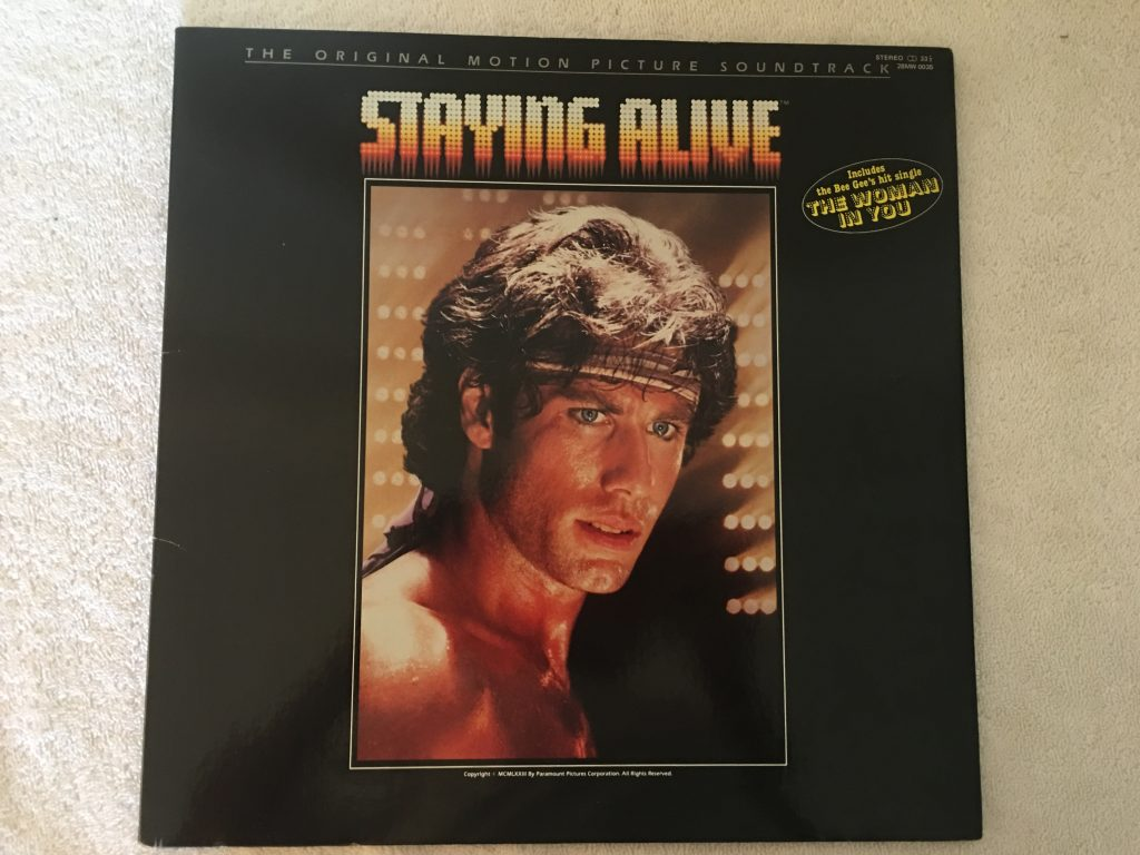 Various ‎– The Original Motion Picture Soundtrack - Staying Alive, Japan Press Vinyl LP, RSO ‎– 28MW 0035, 1983, no OBI