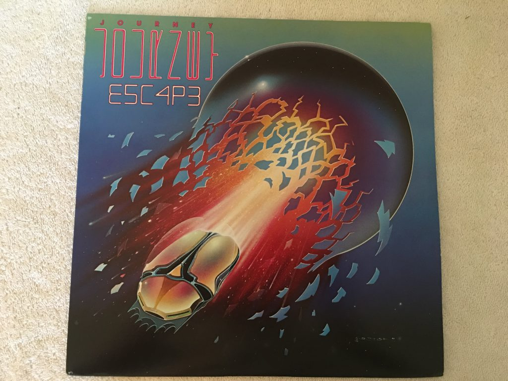 Journey, Escape, Japan Press Vinyl LP, CBS/Sony ‎– 25AP 2100, 1981, no OBI