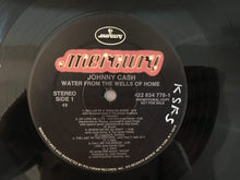 Load image into Gallery viewer, Johnny Cash ‎– Water From The Wells Of Home, Vinyl LP, Mercury ‎– 422 834 778-1, 1988, USA