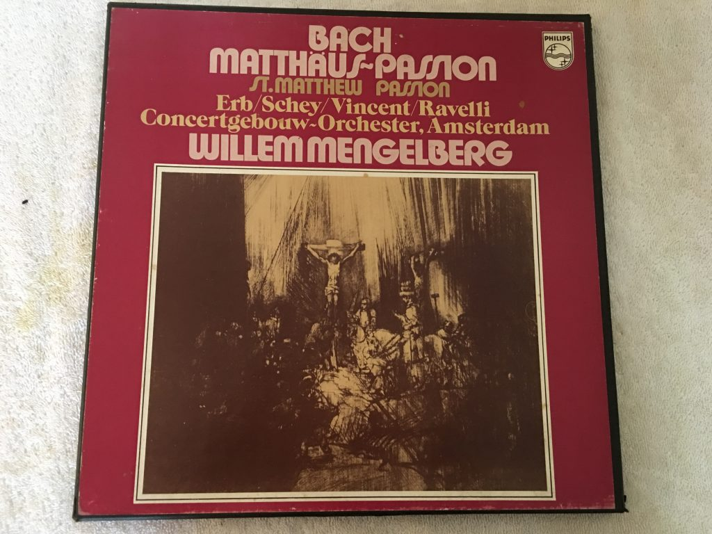 Bach / Karl Erb - Willem Ravelli - Concertgebouworkest - Willem Mengelberg, Jo Vincent, Louis Van Tulder, Herman Schey ‎– Matthäus-Passion, 3x Vinyl LP Box Set, Philips ‎– 6747 168, Holland