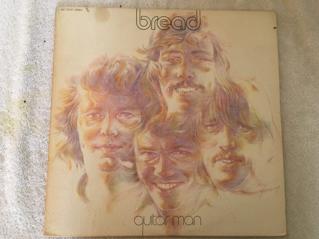 Bread, Guitar Man, Vinyl LP,  Elektra ‎– EKS-75047, 1972 USA