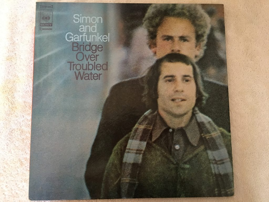 Simon And Garfunkel ‎– Bridge Over Troubled Water, Japan Press Vinyl LP, CBS/Sony ‎– SONX 60135, 1970, no OBI