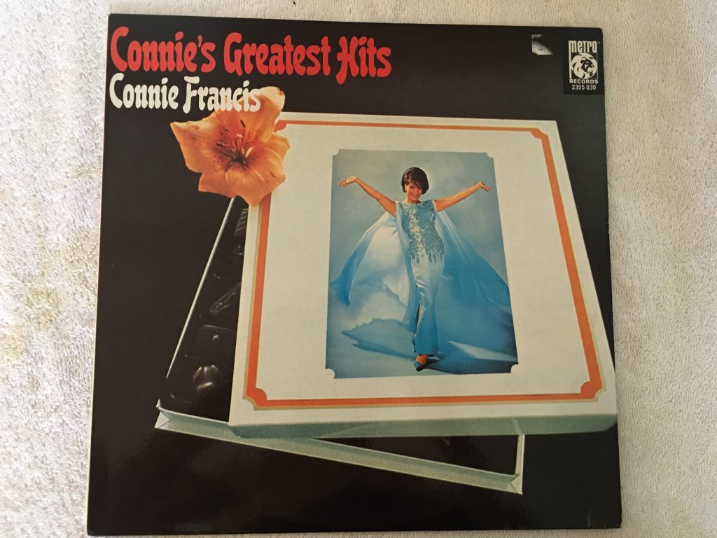 Connie Francis ‎– Connie's Greatest Hits, Vinyl LP, Metro Records ‎– 2355 030, 1972, Australia
