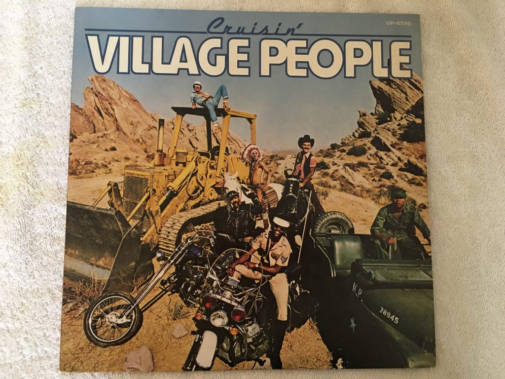 Village People ‎– Cruisin', Japan Press Vinyl LP, Casablanca ‎– VIP-6595, 1978, no OBI