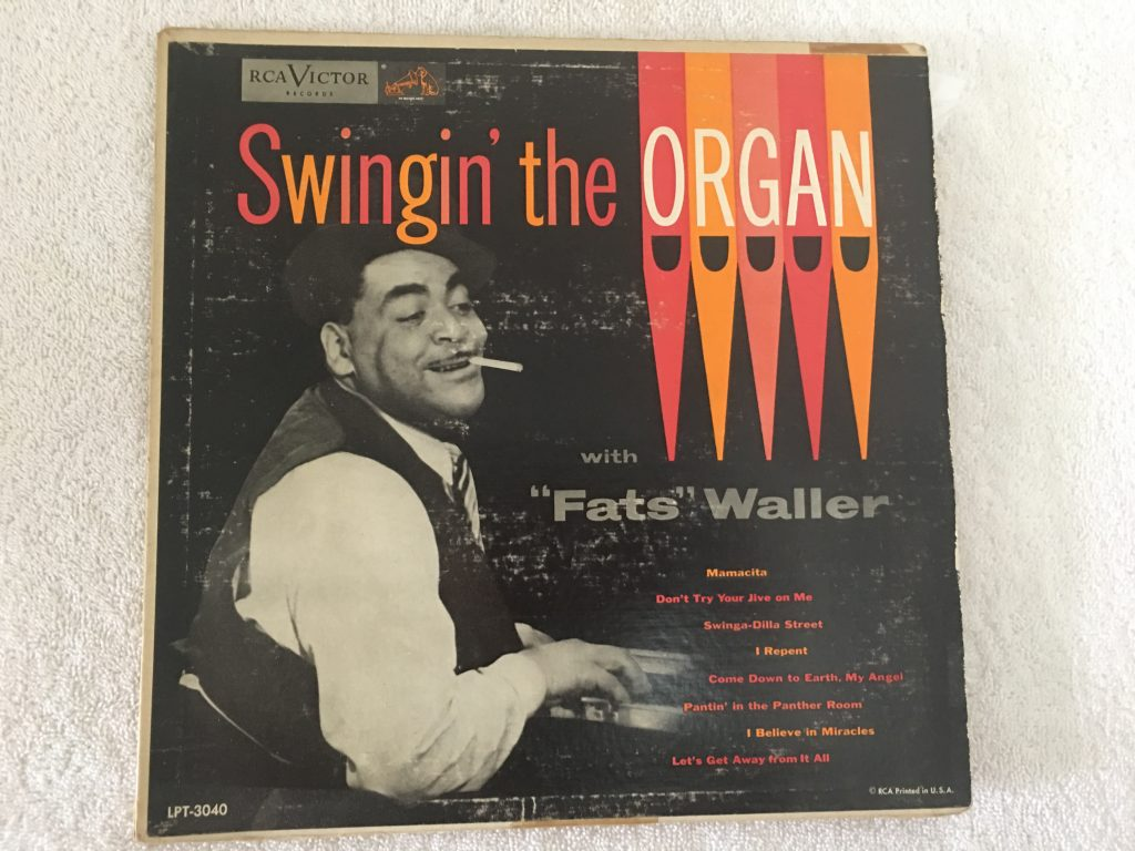 Fats Waller ‎– Swingin' The Organ With